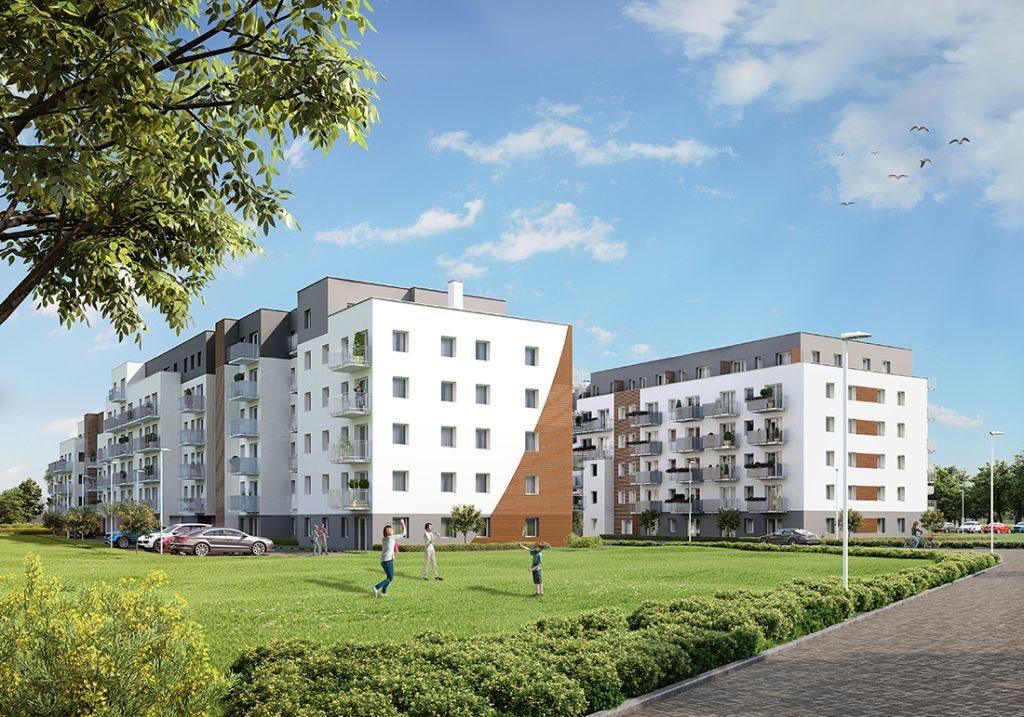 Mieszkanie dwupokojowe na sprzedaż Poznań, Chartowo, Chartowo, abp. Walentego Dymka  42m2 Foto 3