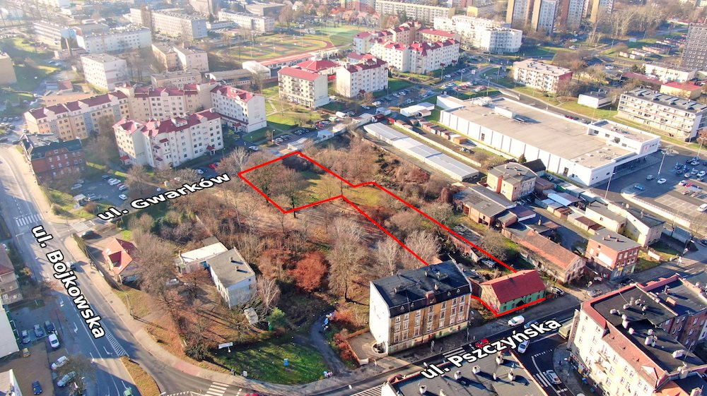 Działka inwestycyjna na sprzedaż Gliwice, Centrum, Pszczyńska  3382m2 Foto 6