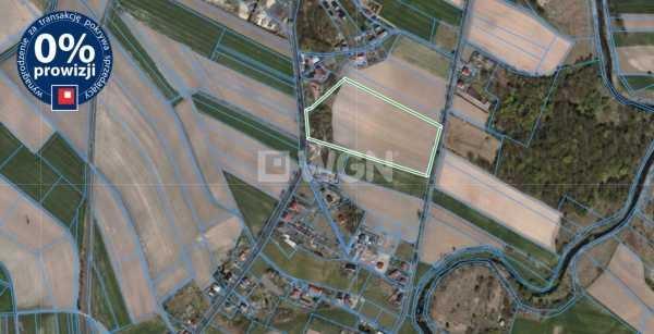 Działka inwestycyjna na sprzedaż Zebrzydowa, centrum  3440m2 Foto 2