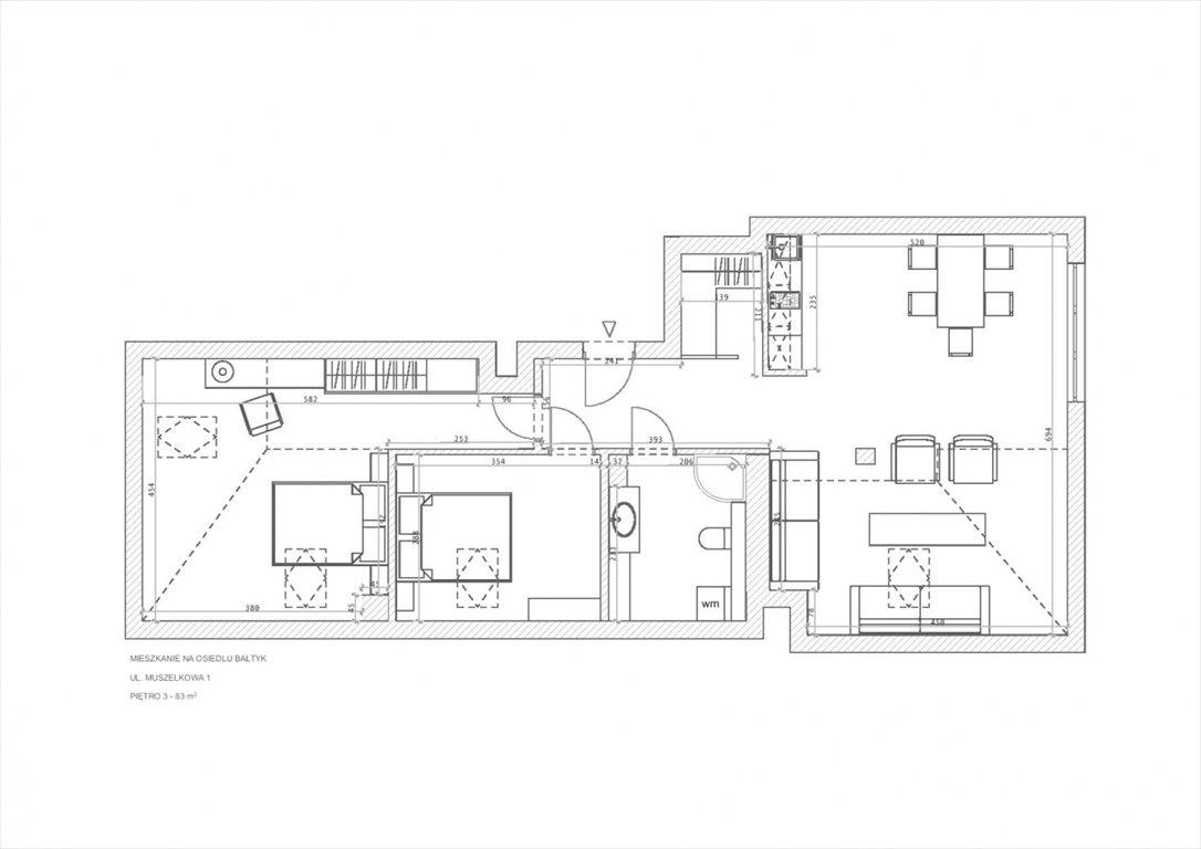 Mieszkanie trzypokojowe na sprzedaż Grzybowo, Osiedle Bałtyk  83m2 Foto 12