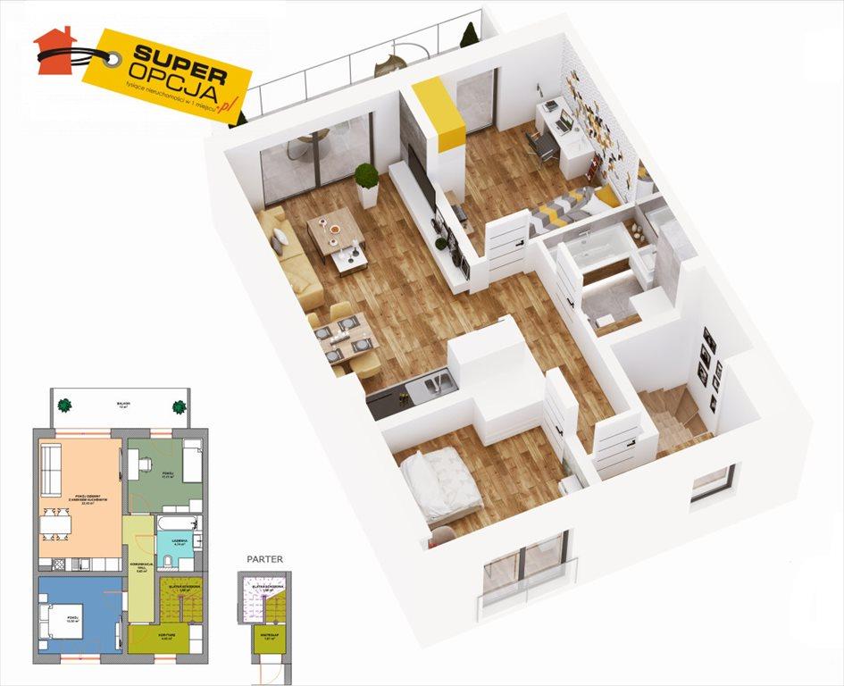 Mieszkanie trzypokojowe na sprzedaż Wieliczka  67m2 Foto 2