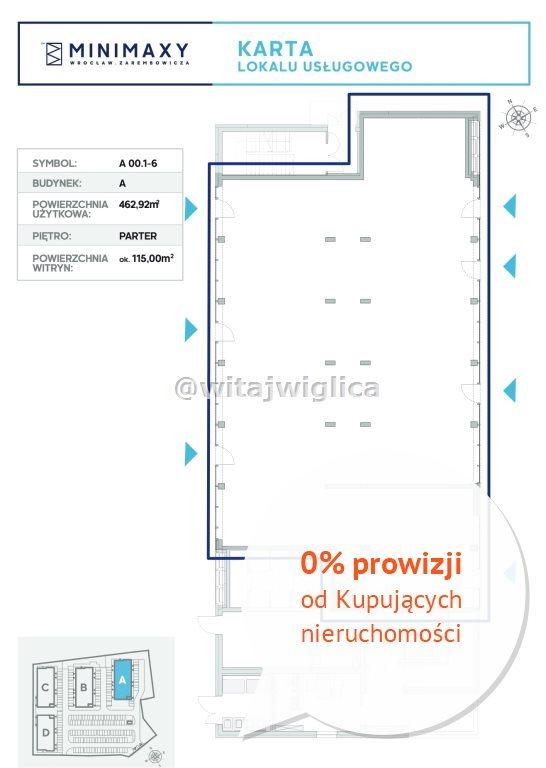 Lokal użytkowy na sprzedaż Wrocław, Fabryczna, Strachowice, Władysława Zarembowicza  463m2 Foto 7