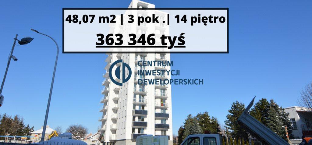Mieszkanie trzypokojowe na sprzedaż Rzeszów, Małopolska  48m2 Foto 1