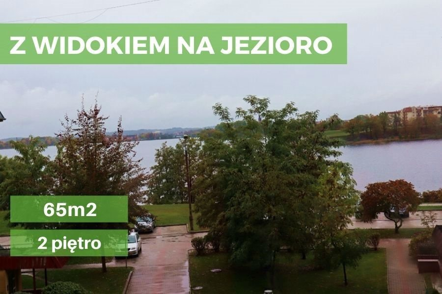 Mieszkanie trzypokojowe na sprzedaż Ełk, Osiedle Jeziorna  65m2 Foto 1