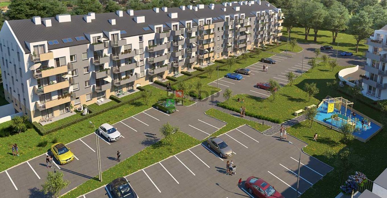 Mieszkanie dwupokojowe na sprzedaż Wrocław, Krzyki, Jagodno, Buforowa  36m2 Foto 3