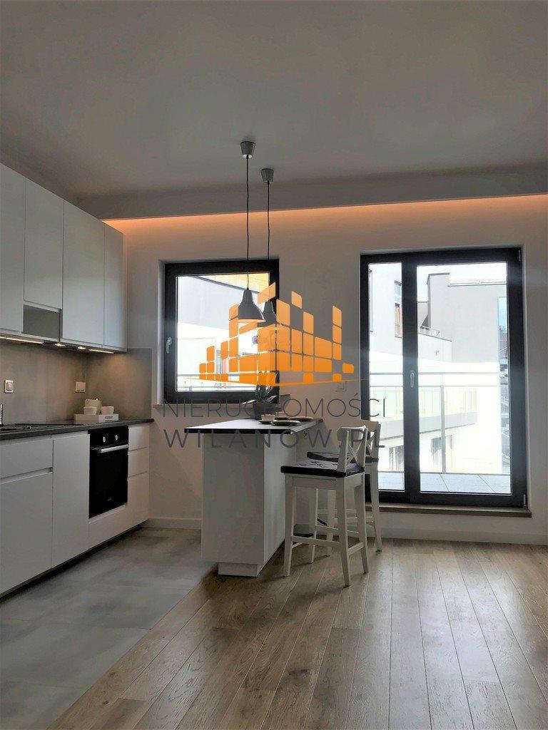 Mieszkanie dwupokojowe na wynajem Warszawa, Wilanów, Sarmacka  43m2 Foto 1
