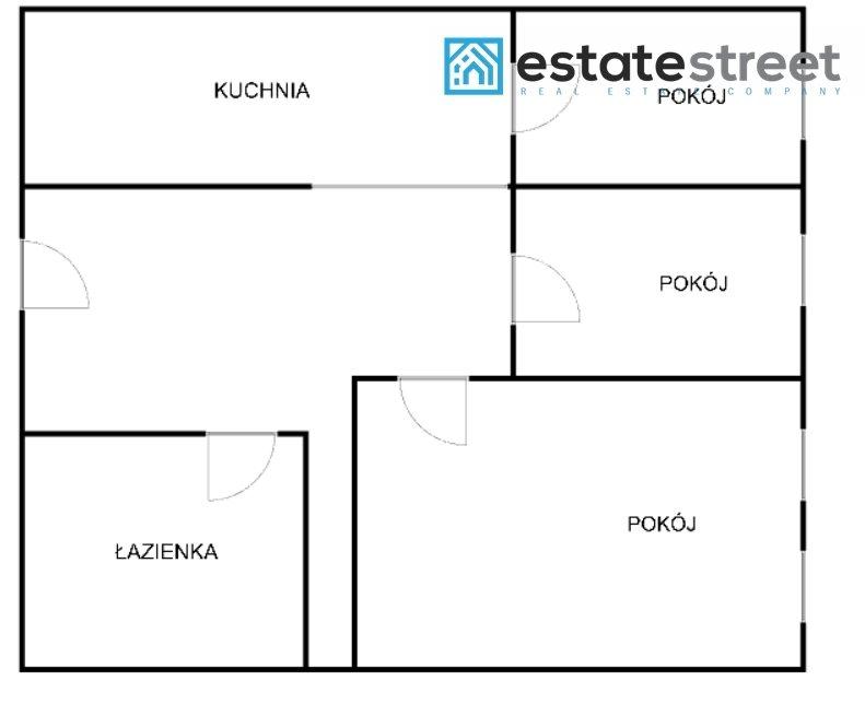 Mieszkanie trzypokojowe na sprzedaż Katowice, Załęże, Lisa  50m2 Foto 10