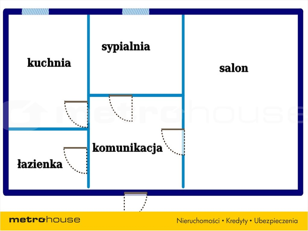 Mieszkanie dwupokojowe na wynajem Sopot, Dolny Sopot, Łokietka  55m2 Foto 7