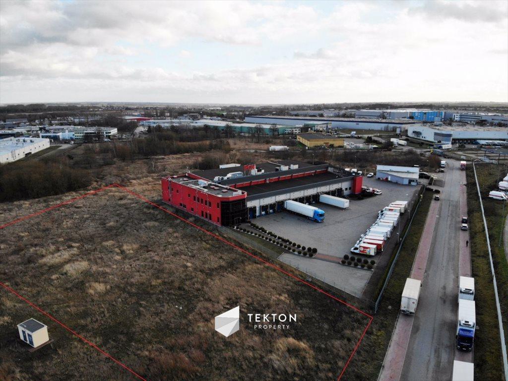 Działka przemysłowo-handlowa pod dzierżawę Pruszcz Gdański, Kupiecka  9500m2 Foto 2