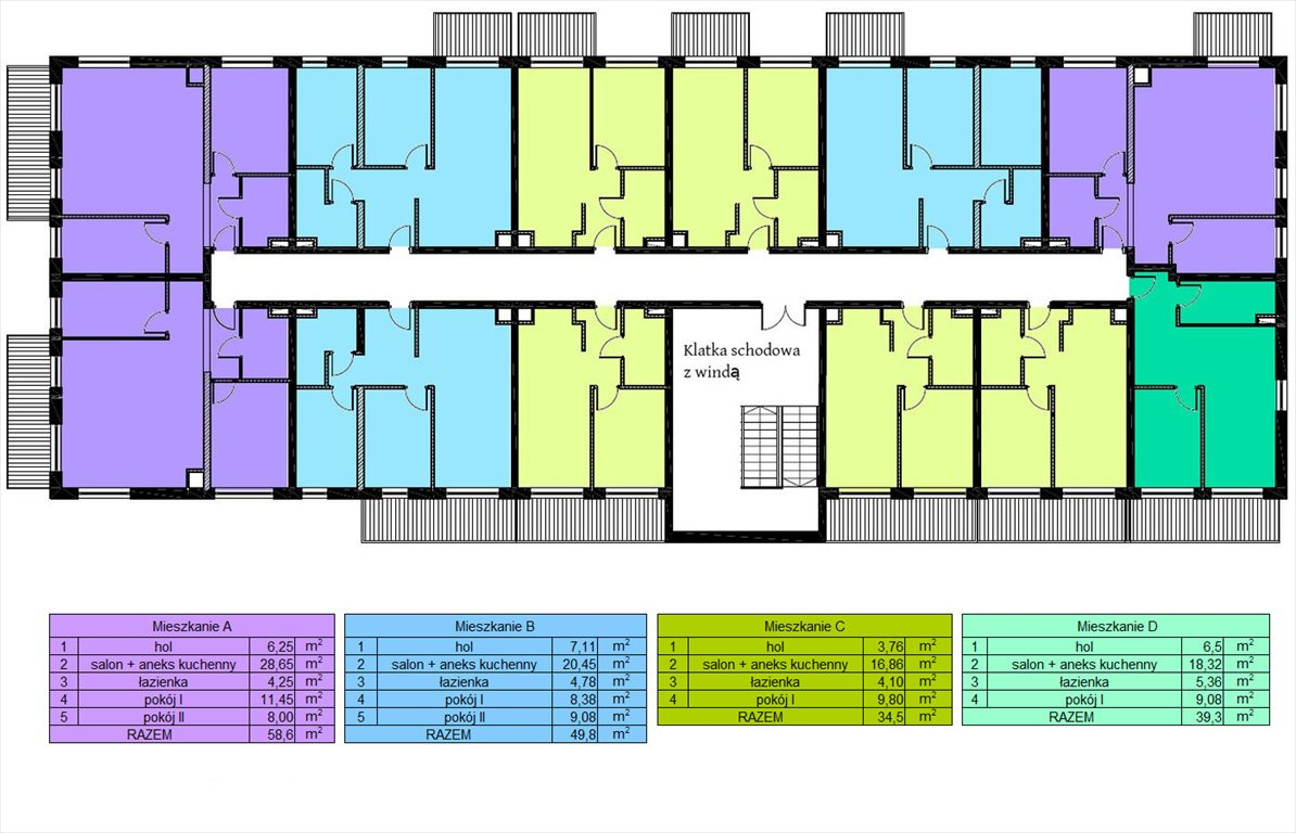 Mieszkanie dwupokojowe na sprzedaż Czechowice-Dziedzice, Legionów  34m2 Foto 4