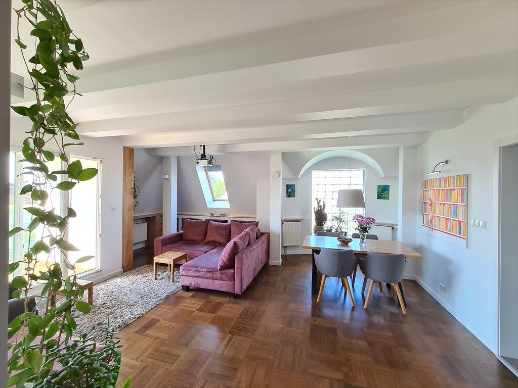 Mieszkanie czteropokojowe  na sprzedaż Warszawa, Wilanów, Łowcza  116m2 Foto 2