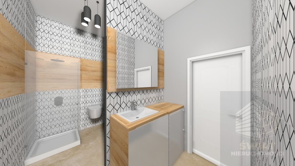 Mieszkanie dwupokojowe na sprzedaż Gryfino  48m2 Foto 3