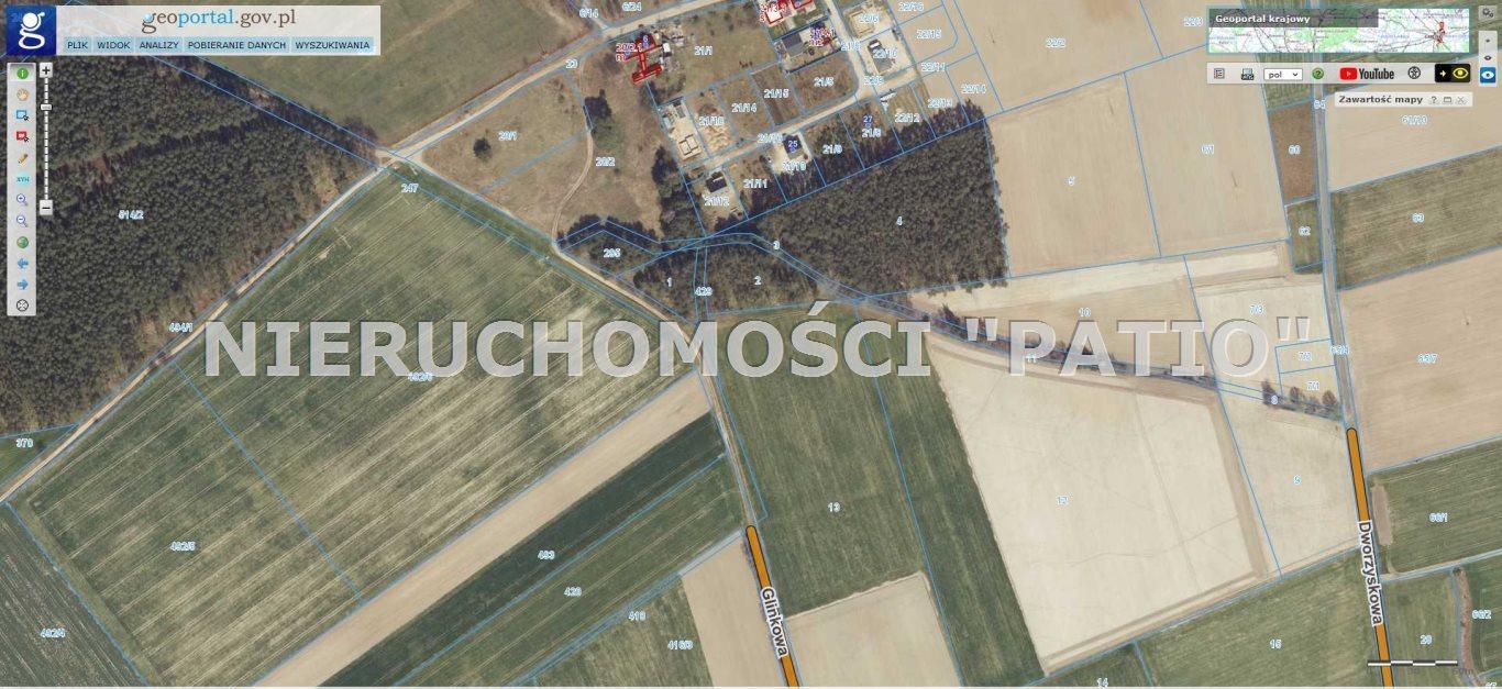 Działka leśna na sprzedaż Kórnik, Radzewo, Dworzyska  4700m2 Foto 12
