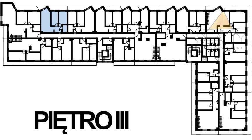 Mieszkanie trzypokojowe na sprzedaż Leszno, Sobieskiego  54m2 Foto 3