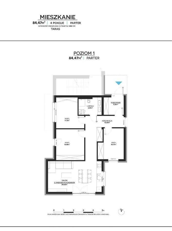 Mieszkanie czteropokojowe  na sprzedaż Lubin  85m2 Foto 1
