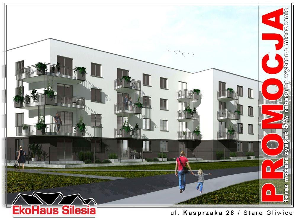 Mieszkanie dwupokojowe na sprzedaż Gliwice, Stare Gliwice, Kasprzaka  4482m2 Foto 1