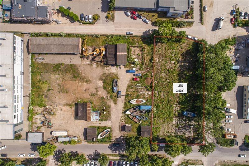 Działka inwestycyjna na sprzedaż Gdańsk, Letnica, Narwicka  2083m2 Foto 2