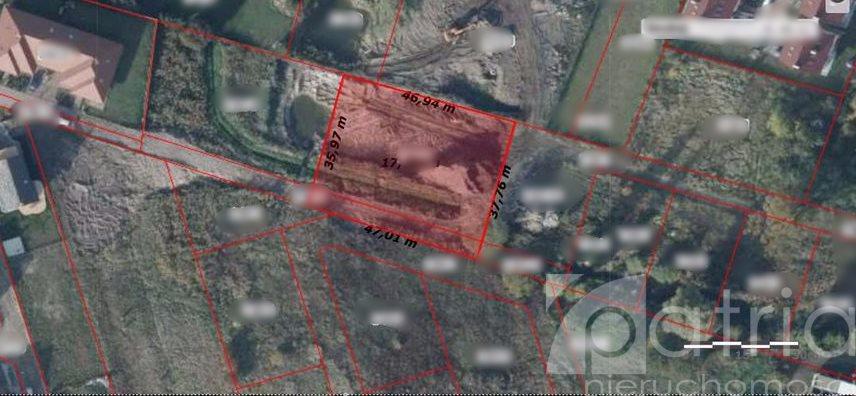 Działka budowlana na sprzedaż Mierzyn  1500m2 Foto 1