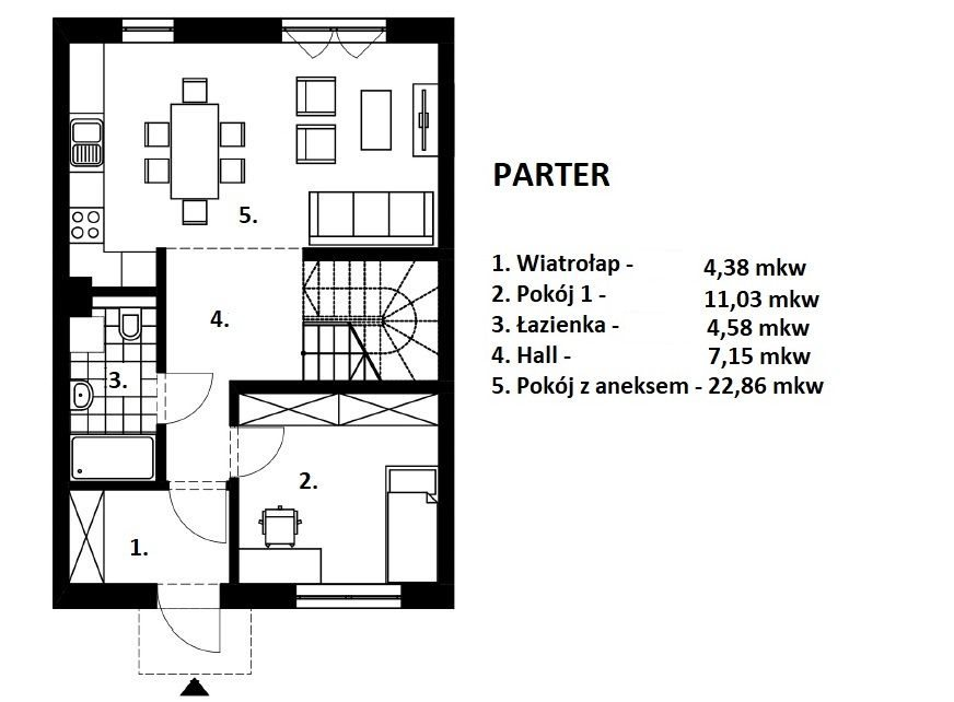 Dom na sprzedaż Wrocław, Fabryczna, Postępowa  151m2 Foto 4