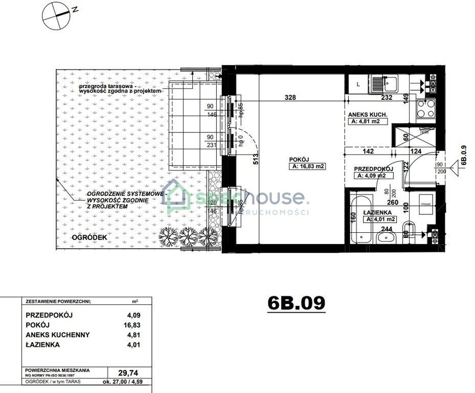 Mieszkanie dwupokojowe na sprzedaż Poznań, Podolany, Podolany, Druskiennicka  30m2 Foto 3