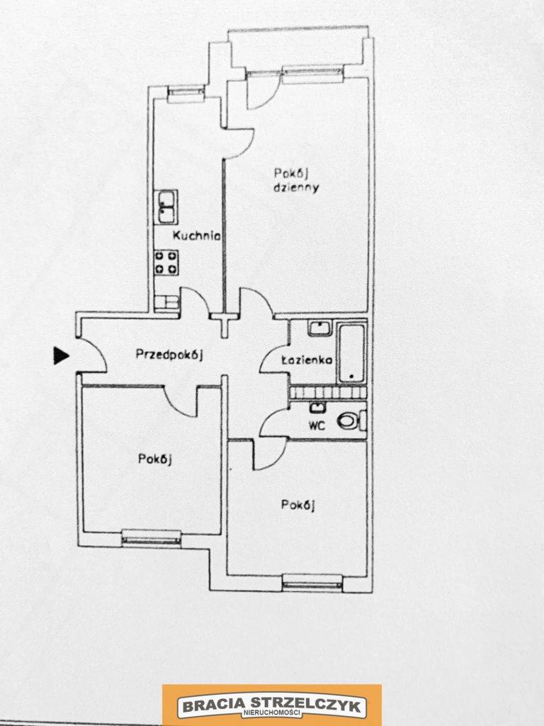 Mieszkanie trzypokojowe na sprzedaż Warszawa, Bemowo, Jana Blatona  66m2 Foto 10