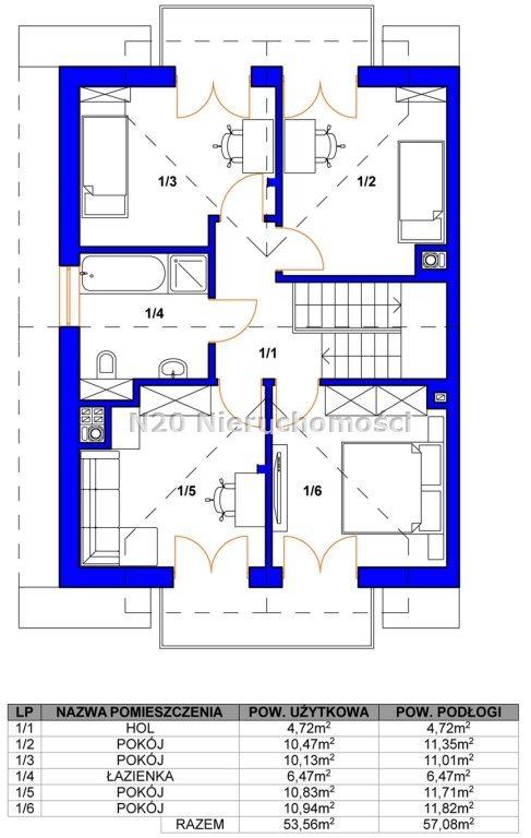 Dom na sprzedaż Zabierzów, Więckowice, Topolowa - okolice  125m2 Foto 4