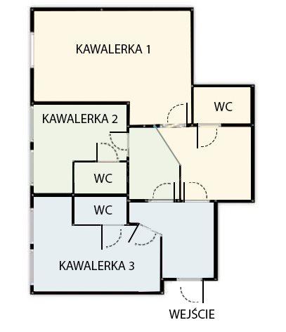 Mieszkanie trzypokojowe na sprzedaż Wrocław, Krzyki, Centralna  58m2 Foto 2