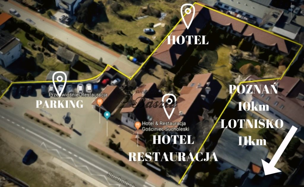 Lokal użytkowy na sprzedaż Suchy Las  1139m2 Foto 2