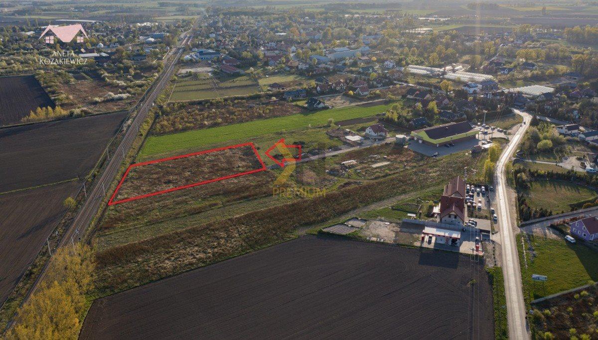 Działka rolna na sprzedaż Smolec, Borowikowa  5975m2 Foto 1