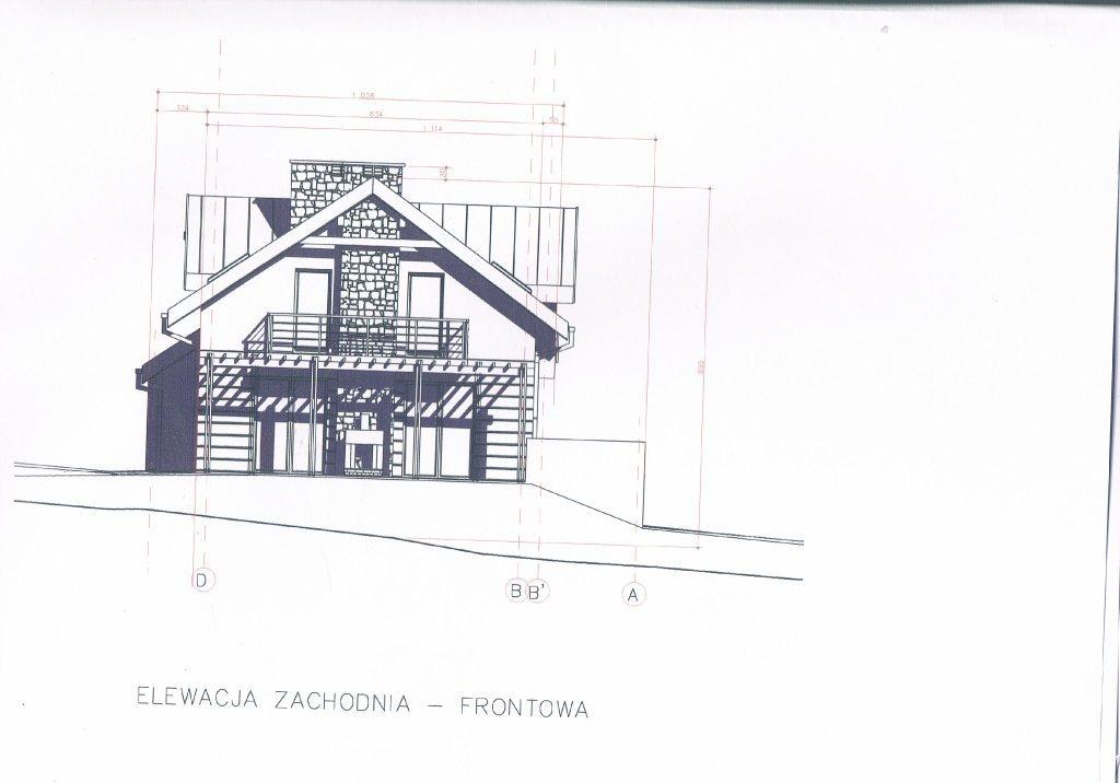 Działka budowlana na sprzedaż Kraków, Dębniki, Kostrze, Falista  2300m2 Foto 3