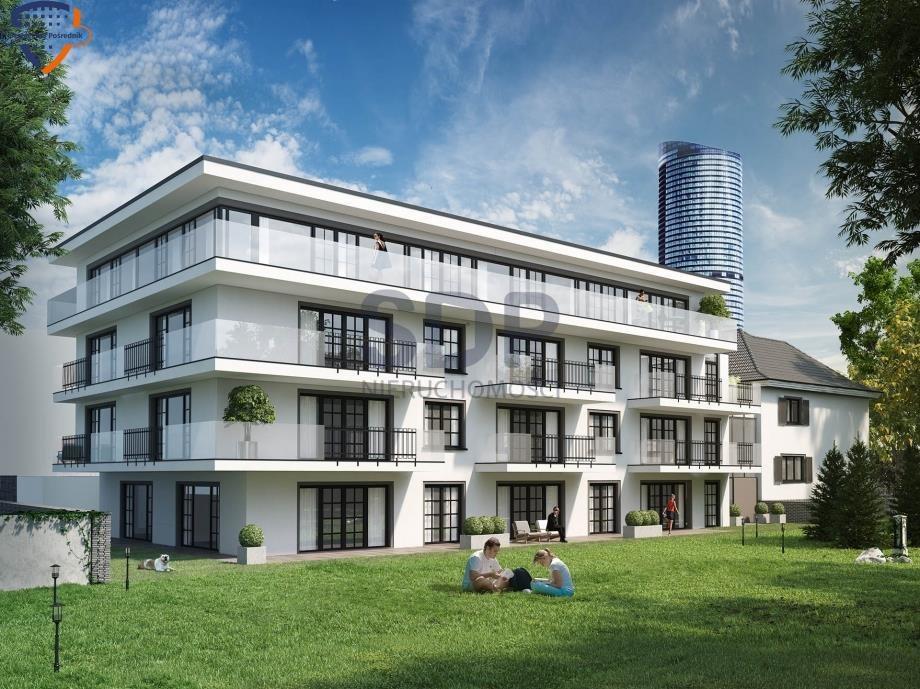 Mieszkanie trzypokojowe na sprzedaż Wrocław, Krzyki, Borek, ok. Hallera  99m2 Foto 1
