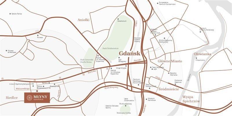 Mieszkanie dwupokojowe na sprzedaż Gdańsk, Siedlce, Jacka Malczewskiego  45m2 Foto 9