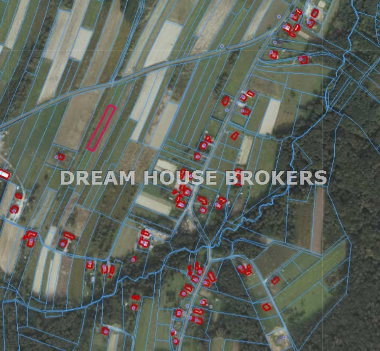 Działka rolna na sprzedaż Strażów  1500m2 Foto 2
