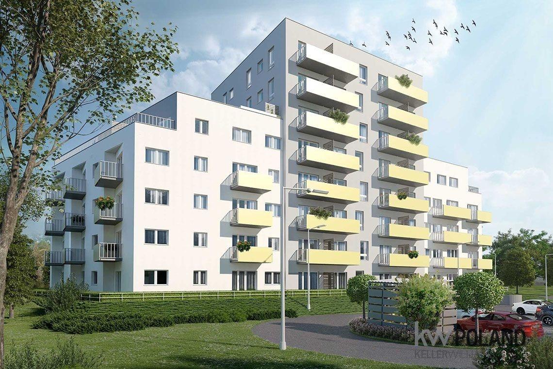 Mieszkanie trzypokojowe na sprzedaż Gliwice, Kozielska  54m2 Foto 3