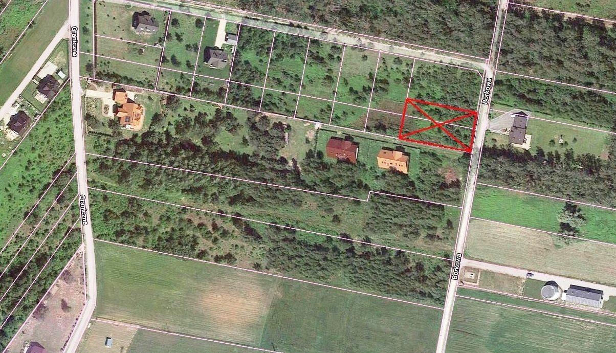 Działka budowlana na sprzedaż Rzakta, Borkowa  1500m2 Foto 6