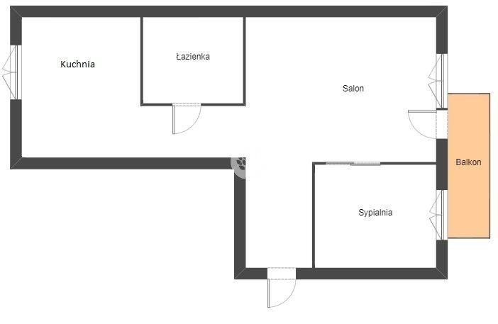 Mieszkanie dwupokojowe na sprzedaż Bydgoszcz, Błonie, Romana Dmowskiego  35m2 Foto 10