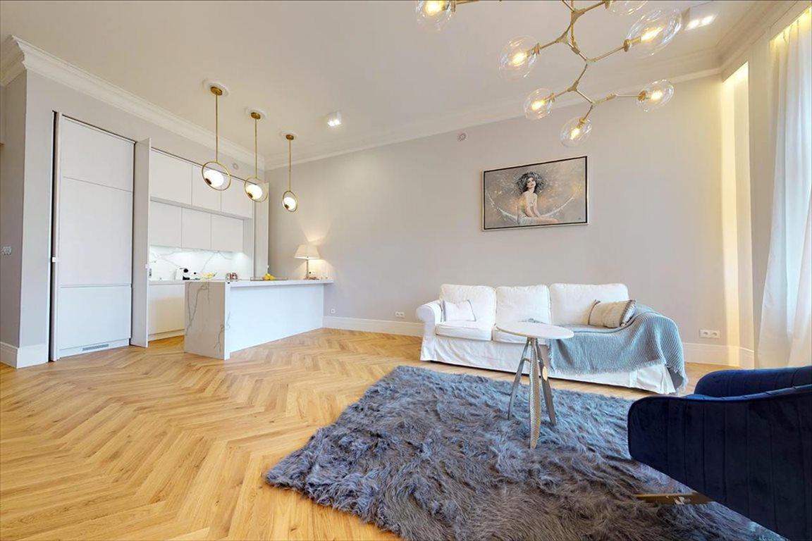 Luksusowe mieszkanie dwupokojowe na sprzedaż Warszawa, Śródmieście, Widok  84m2 Foto 1