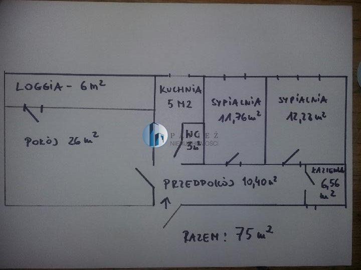 Mieszkanie trzypokojowe na sprzedaż Warszawa, Mokotów, Dolny Mokotów  75m2 Foto 6