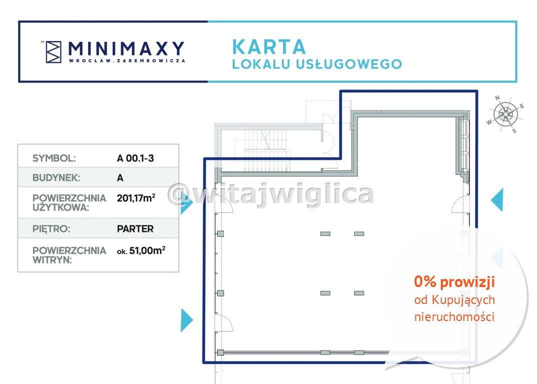 Lokal użytkowy na sprzedaż Wrocław, Fabryczna, Strachowice, Władysława Zarembowicza  201m2 Foto 8