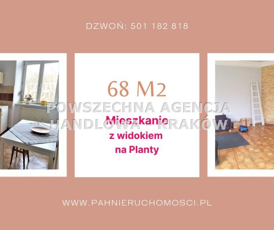 Mieszkanie dwupokojowe na sprzedaż Kraków, Stare Miasto  68m2 Foto 1