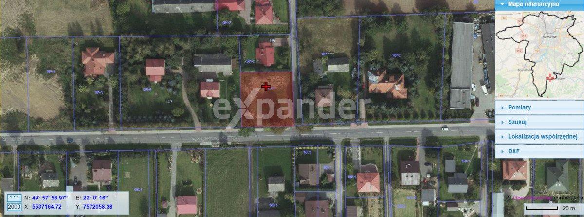 Działka rolna na sprzedaż Rzeszów  1500m2 Foto 2