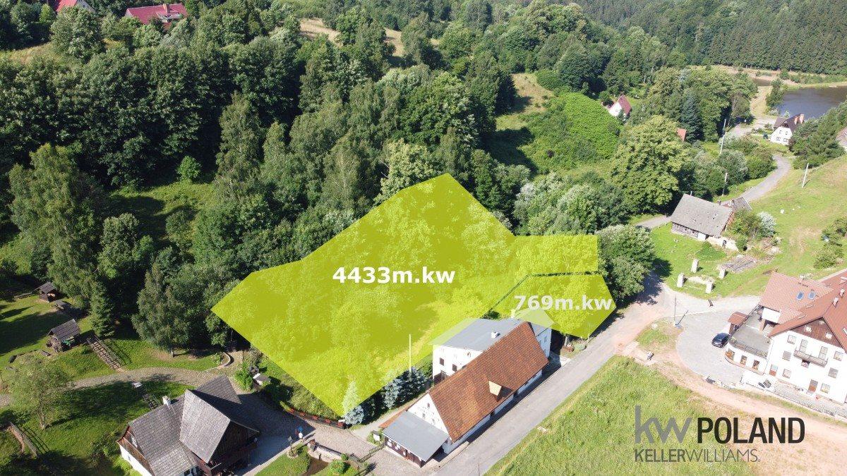 Działka budowlana na sprzedaż Kudowa-Zdrój, Pstrążna  769m2 Foto 1
