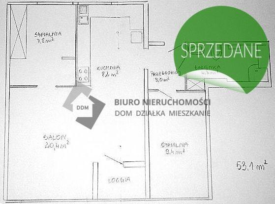 Mieszkanie trzypokojowe na sprzedaż Warszawa, Mokotów, Sadyba, Bernardyńska  53m2 Foto 9