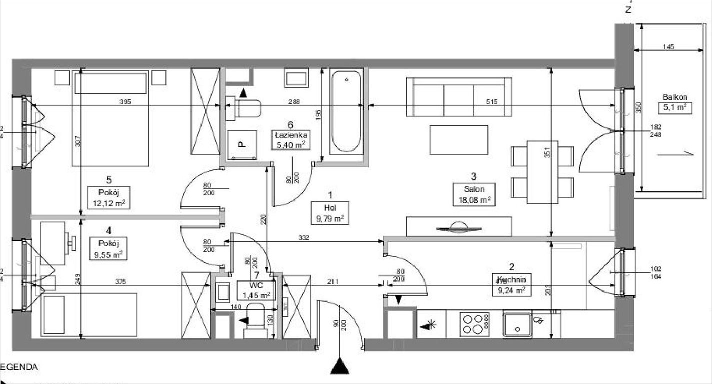 Mieszkanie trzypokojowe na sprzedaż Warszawa, Ochota, Budki Szczęśliwickie  68m2 Foto 8