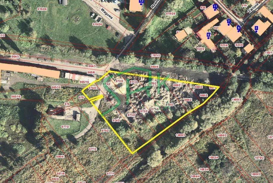 Działka przemysłowo-handlowa na sprzedaż Sosnowiec  4922m2 Foto 1