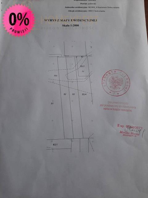 Działka budowlana na sprzedaż Kazimierz Dolny  5000m2 Foto 1