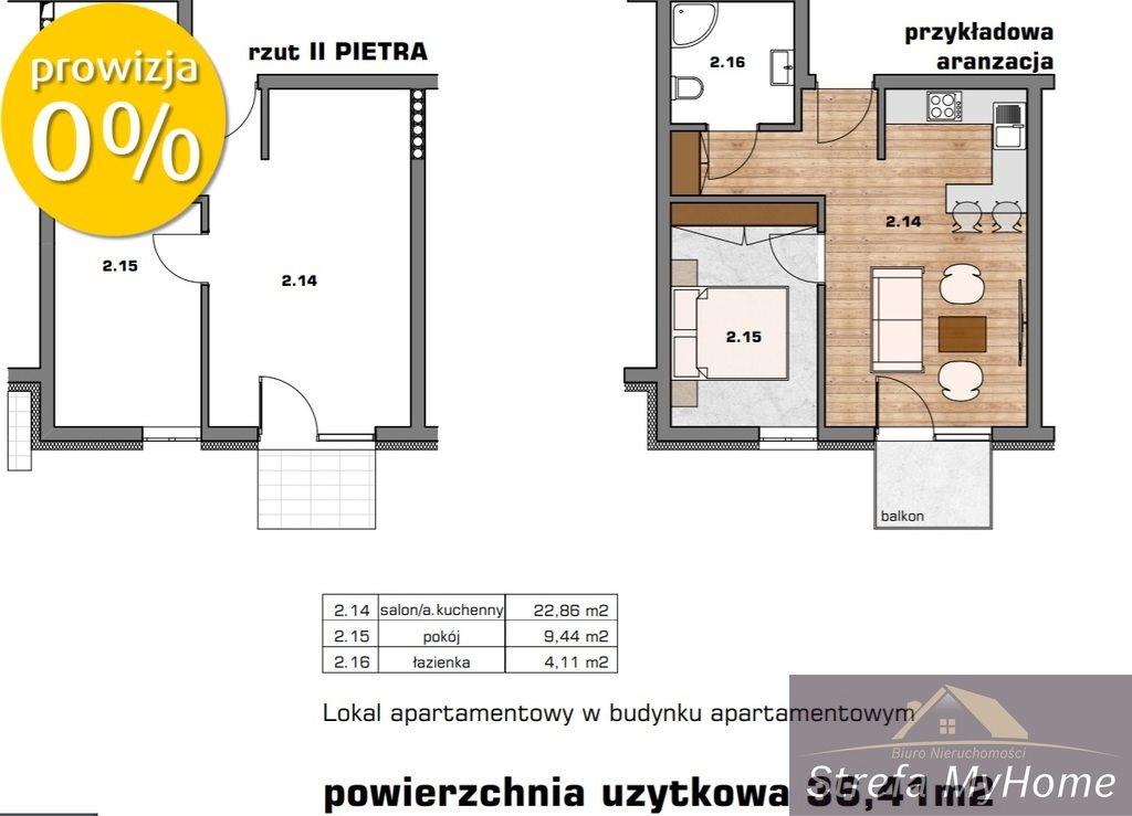 Mieszkanie dwupokojowe na sprzedaż Dziwnówek, Nad Zalewem  36m2 Foto 4