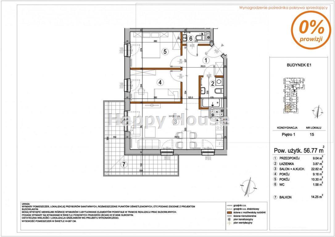 Mieszkanie trzypokojowe na sprzedaż Warszawa, Rembertów, Chełmżyńska  57m2 Foto 1
