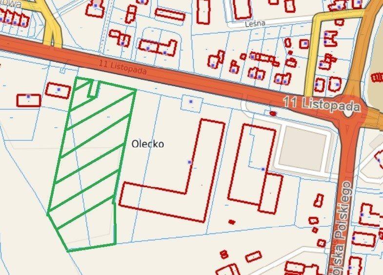 Działka komercyjna na sprzedaż Olecko, 11 Listopada  10200m2 Foto 6