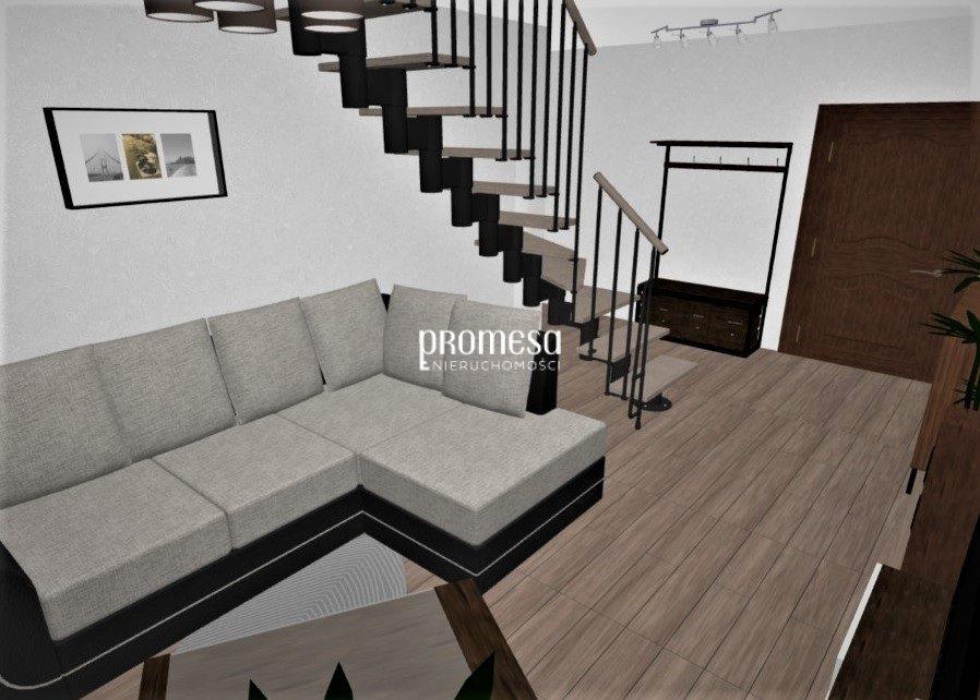 Mieszkanie trzypokojowe na sprzedaż Wrocław, Fabryczna, Leśnica  74m2 Foto 2